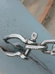 underperforming shackle system