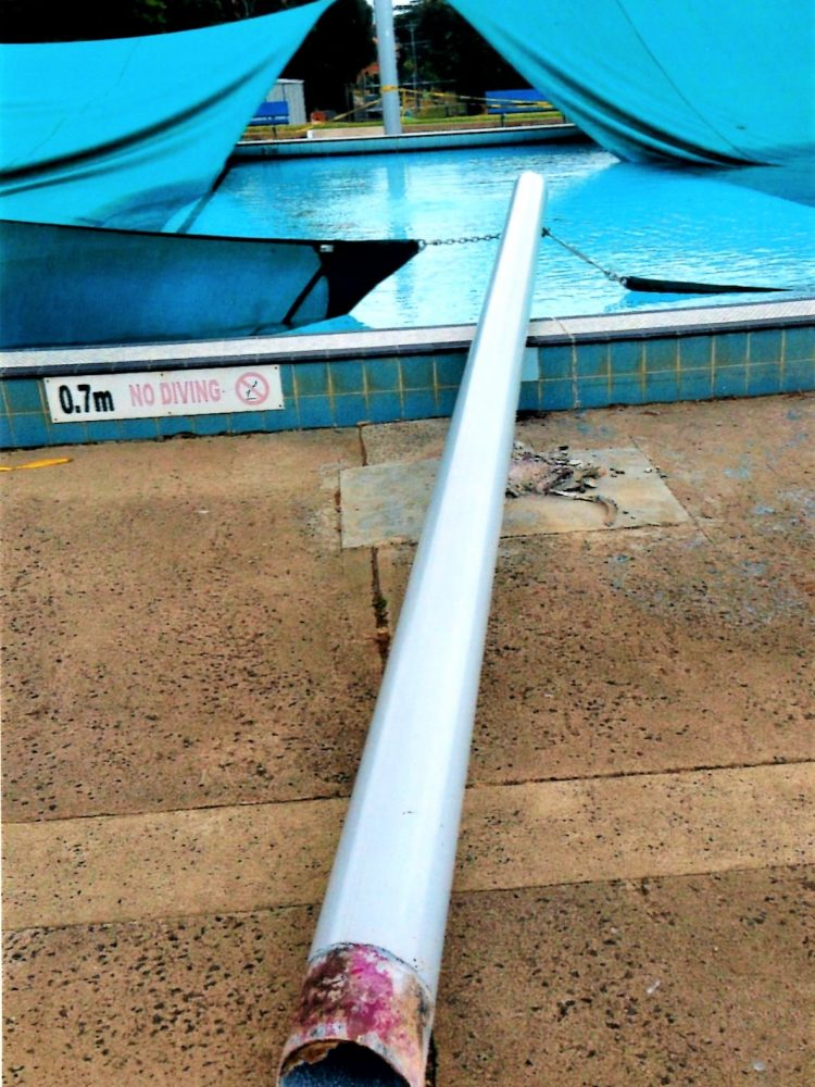cheap steel poles